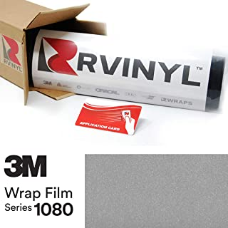 3M 1080 G120 Gloss White Aluminum 5ft x 1ft W/Application Card Vinyl Vehicle Car Wrap Film Sheet Roll