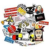 XZZ Etiqueta de teléfono móvil Lenguaje Programación Maleta Cuaderno 40Pcs