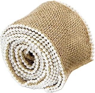 Rolo de fita de estopa SUPVOX com fita de artesanato de pérola pequena para decoração de casamento de Natal