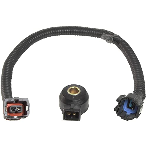 apdty 028252 knock sensor with new wiring harness pigtail connector fits  select 1990-2002 nissan