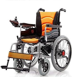 Alqn Sillas de ruedas eléctricas, sillas de ruedas eléctricas motorizadas, scooter médico para discapacitados y personas mayores