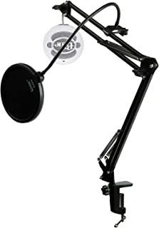 Blue Microphones Snowball iCE USB Microphone with Knox Studio Arm and Pop Filter