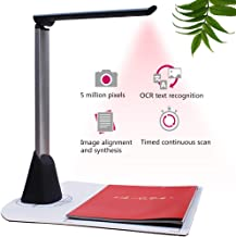 $152 » POEO Document Camera, High Definition Scanner Portable, with OCR Multi-Language Function LED Light Capture Size A3 Real-Time Projection for Office Classrooms