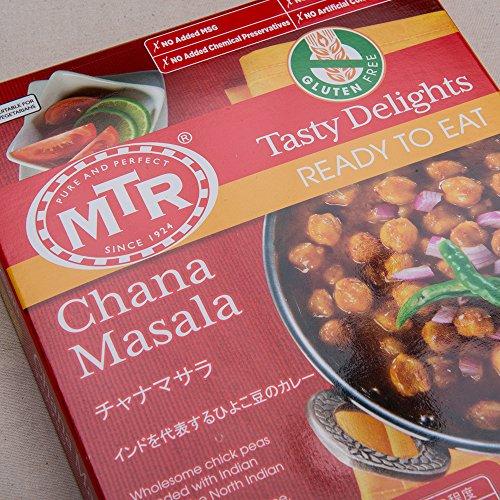 MTR チャナマサラ Chana Masala 300g 【2人前】 レトルトカレー 豆 ダール インドカレー 業務用 スパイス