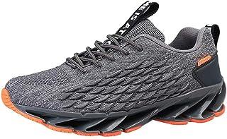 AEPEDC Calzado Deportivo Masculino Zapatillas De Deporte Acolchadas Hombres Zapatos Casuales De Color Degradado Hombres Hombres Aerodin/ámicos Chunky Mans Calzado Zapatillas De Deporte Grandes De M