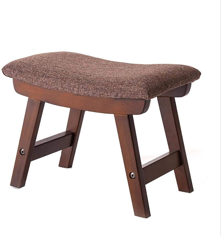 20-Moozhitech Cloth Stool Fashion Creative shoes Bench Simple Stool Solid Wood Sofa Stool - Small Stool (color   B)