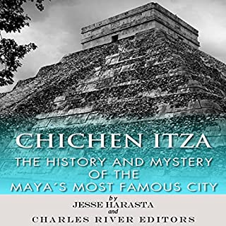 Chichen Itza     The History and Mystery of the Mayan's Most Famous City              De :                                                                                                                                 Jesse Harasta,                                                                                        Charles River Editors                               Lu par :                                                                                                                                 Doug Miller                      Durée : 1 h et 3 min     Pas de notations     Global 0,0