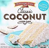 Pepperidge Farm, Classic Coconut Layer Cake, 19.6 oz (Frozen)