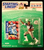 EMMITT SMITH / DALLAS COWBOYS 1997 NFL Starting Lineup Action Figure & Exclusive NFL Collector Trading Card -