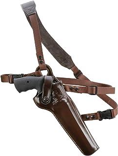 Image of GALCO - Kodiak Hunter Chest Holster S&W 8 3/8-Inch N FR .44 Model holsters 29/629, Right Hand (Dark Havana Brown) (KH130H)