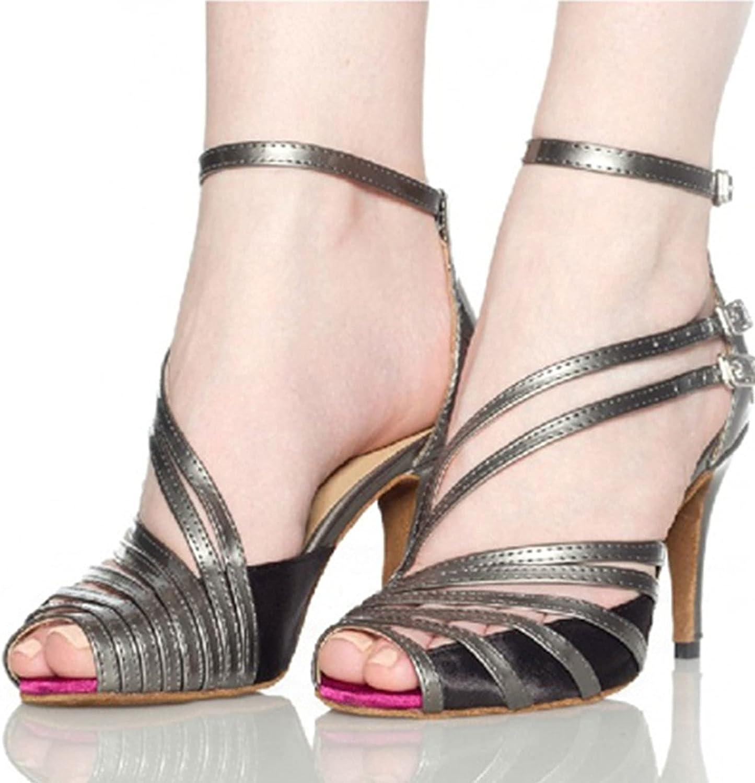 Women Open Toe Latin Dance Shoes, Women's Ballroom Standard Danc