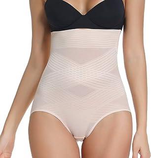 Joyshaper Femme Culotte Sculptante Gainante Invisible Panty Shapewear Taille Haute pour Ventre Plat