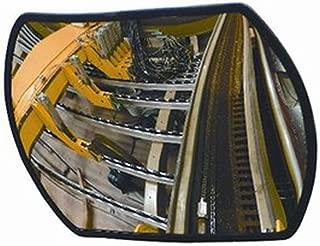 Light Weight Security Mirror New Economy Roundtangular Convex 12L X 18W