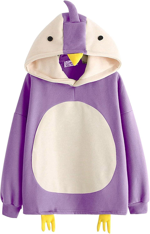 Cute Hoodies for Teen Girls Plus Fleece Casual Long Sleeve Sweater Trendy Loose Comfy Sweatshirt Tshirts