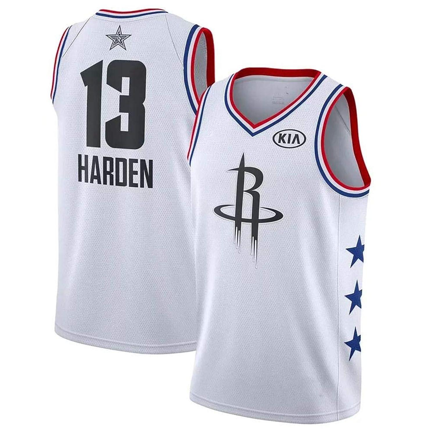 半導体ライオンパンフレットNB-Asia オールスター 飛人 巨人 13番 ホワイト メンズ ユニフォーム バスケットボール 刺繍 アメリカ レプリカ ベスト トップス