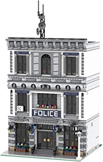 Vonado City Modular Police Station Building Kit MOC Model Toys Birthday Gift to Friends Boys and Adults (3128 PCS)