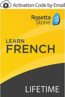 Rosetta Stone: Learn French with Lifetime Access on iOS, Android, PC, and Mac [Activation Code by Email]