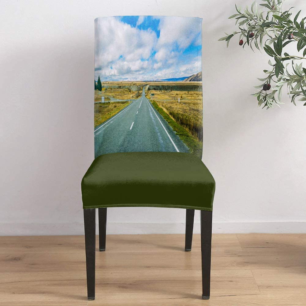 Max 84% OFF Dining Room Weekly update Stretch Chair Cover Vast Road Country Yell Slipcover