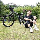Zoom IMG-1 vivi bici elettrica pieghevole 26