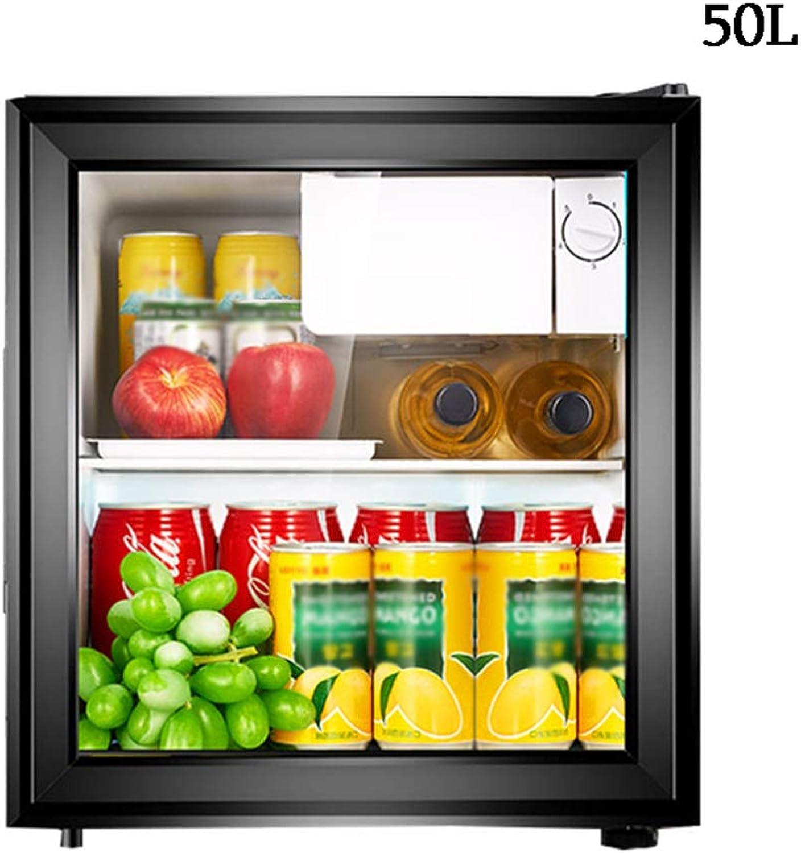¡envío gratis! Refrigerador Negro De De De Una Sola Puerta De 50 L. Vitrina De Bebidas Barra De Hielo En Casa FabricacióN De Hielo   RefrigeracióN   PreservacióN   Almacenamiento De Vino 449 × 440 × 500mm  Hay más marcas de productos de alta calidad.