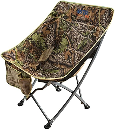 G-YL Chaise de pêche Pliante en Plein air Portable de pêche au Dos Tabouret Audacieux épais en métal Chaise de Loisirs Lounge Lounge Chair Déjeuner Chair Moon -1276