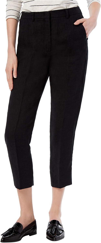 MaxMara Womens Solid Casual Cropped Pants