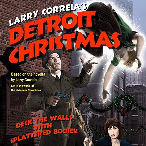 Detroit Christmas audiobook cover art