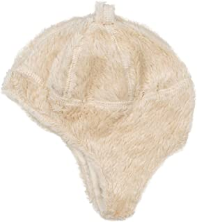 Under the Nile Organic Cotton Unisex Baby Ear Flap Hat, Size 0-3m, Off-White