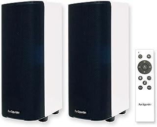 Fun Sounds Performance Stereo(パフォーマンスステレオ)【高音質Bluetoothアクティブスピーカー】【Bluetooth&有線対応/USBメモリー/SCMS-T対応】【メーカー保証1年】