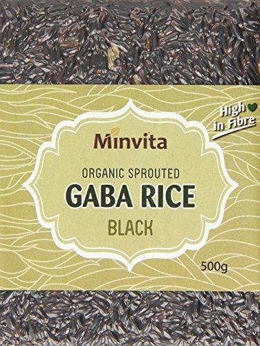 Minivita Organic Gaba Rice Black 500 g (Pack of 12)