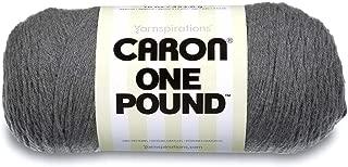 Caron One Pound Yarn Medium Gray Mix
