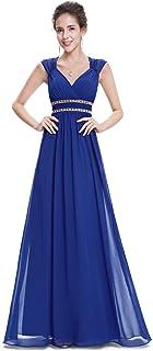 6f7b057adb4 Ever-Pretty Col V Robe de Soirée Longue Élégante Femme 08697