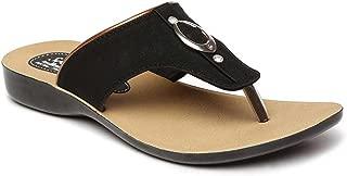 PARAGON SOLEA Women's Black Flip-Flops