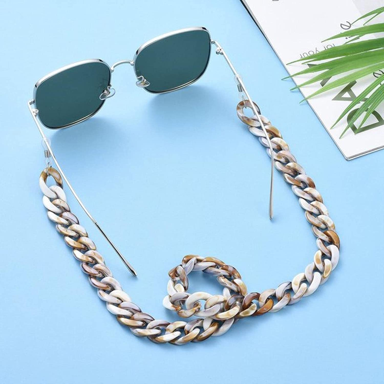 Wsnld Glasses Chain Women Reading Glasses Hanging Neck Chain Sunglasses Chain Eyeglasses Strap