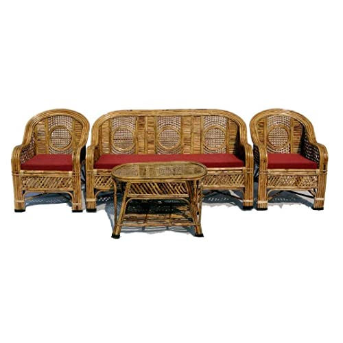 Cane Sofa Set Buy Cane Sofa Set Online At Best Prices In