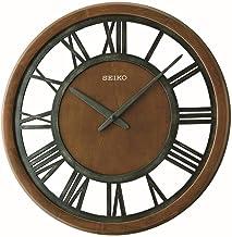 ساعة حائط خشبية من سيكو - Qxa735bls