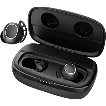 Wireless Earbuds, Mpow M30 Plus Bluetooth Earbuds 100H Deep Bass Earphones, IPX8 Waterproof Sports Earbuds, Workout Headphones with Mic, Touch Control/Mono&Twin Mode/Power Bank/USB-C Charging