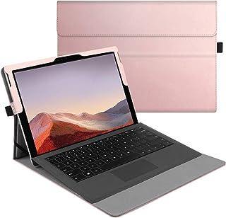 جراب Fintie لهاتف Microsoft Surface Pro 7 / Pro 6 / Pro 5 / Pro 4 / Pro 3 12. 3 Inch - غطاء أعمال متعدد الزوايا ، متوافق م...