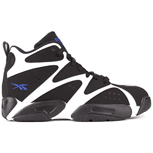 Reebok Kamikaze I Mid Mens in White Black Blue 4e1c05397