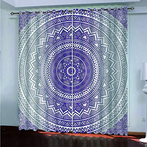 cortinas opacas etnicas