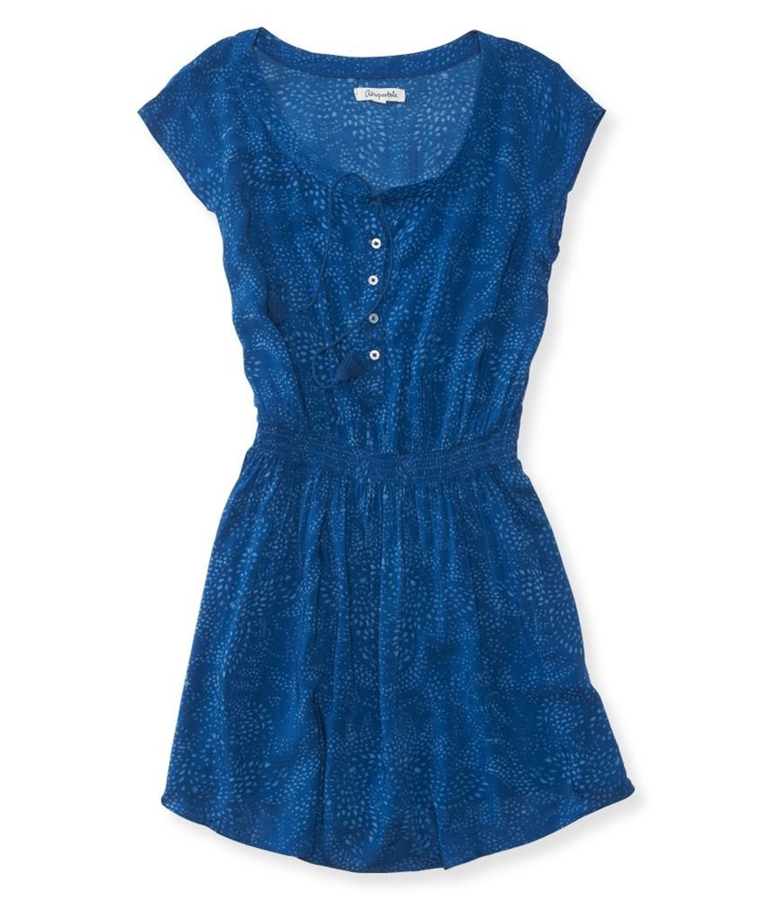 Available at Amazon: Aeropostale Women's Printed Shirt Dress