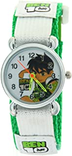 Ben 10 Kids Boys Girls Children Cartoon Sticker Fabric Strap Analog Quartz Time Teacher Watches