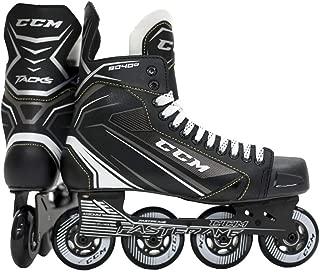 CCM Unisex RH9040 Tac Jr Player in Line Skates, Junior, Black