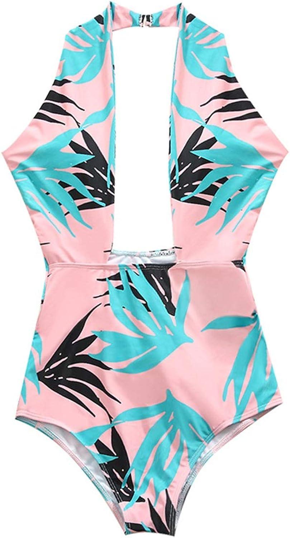 PGSuperBig Bikini - Fashion Damen Bademode Sexy Einteiler Bikini Bikini in Farbe gedruckt - Bikini 4625 (Größe   L)