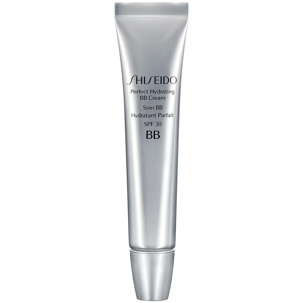 修正南想定する[Shiseido ] 資生堂完璧な水和BbクリームSpf 30 30ミリリットル媒体 - Shiseido Perfect Hydrating BB Cream SPF 30 30ml Medium [並行輸入品]