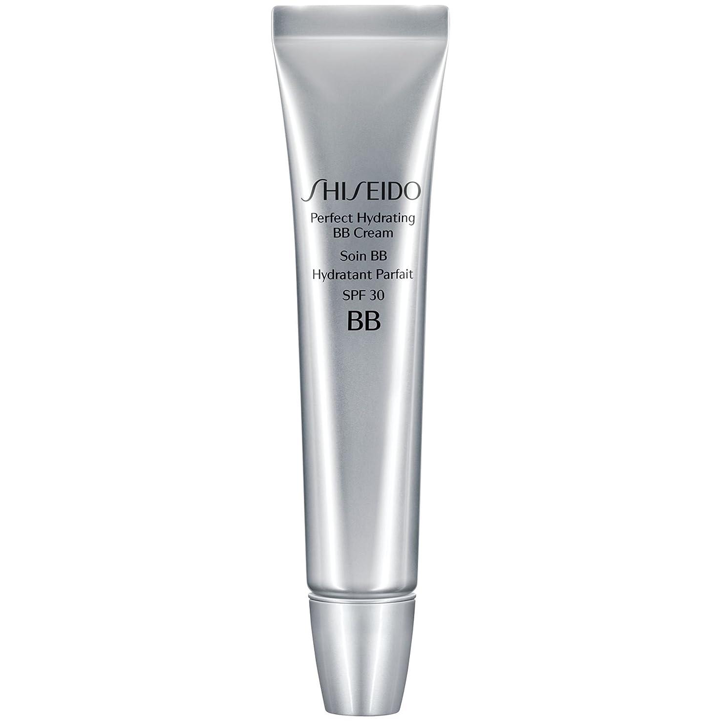 反対にジェムコイン[Shiseido ] 資生堂完璧な水和BbクリームSpf 30 30ミリリットル媒体 - Shiseido Perfect Hydrating BB Cream SPF 30 30ml Medium [並行輸入品]