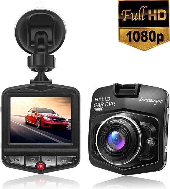 Cámara de salpicadero Full HD 1080p con giroscopio integrado monitor de aparcamiento detección de movimiento grabación en bucle