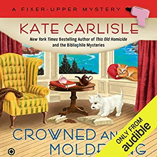 Crowned and Moldering audiobook cover art