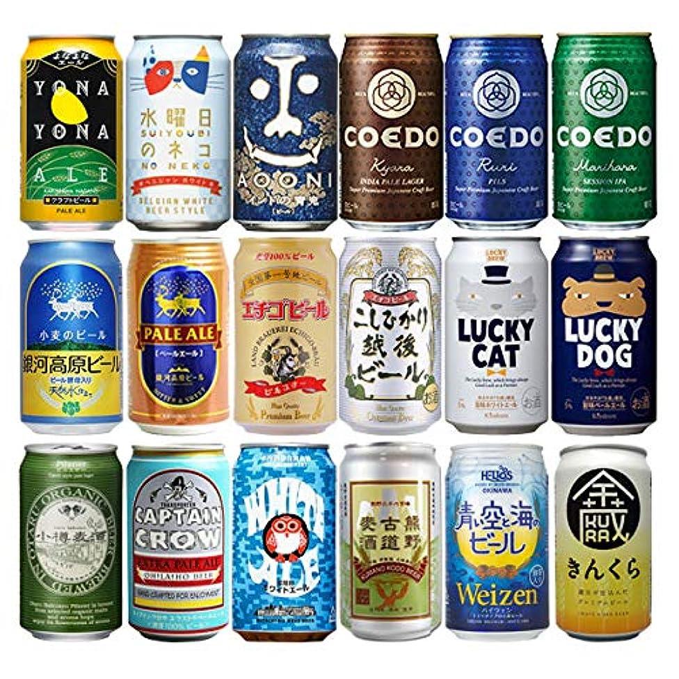 ラベル感度クローンクラフトビール 飲み比べ 18本 逸酒創伝 オリジナルギフト
