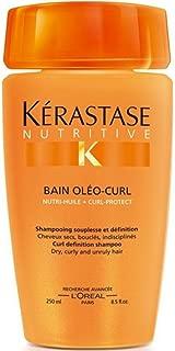 Kerastase Nutritive Bain Oleo Curl Definition Shampoo, 8.5 oz (Pack of 2)
